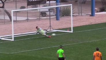 Dynamo Keeper Makes Amazing Quadruple Save On PK