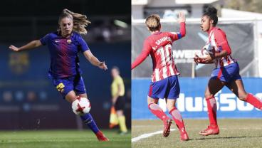 When Fierce Rivals Barca And Atletico Face Off This Weekend, The Title Will Be On The Line