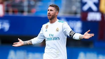 Sergio Ramos Pooped His Pants