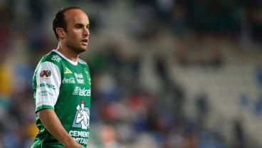 Landon Donovan Scored His First Goal For Leon. Sort Of