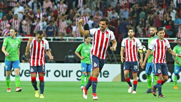 Chivas Scored Two Very Rude Goals Against Seattle On Wednesday Night