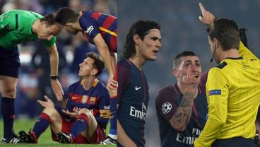 Marco Verratti Claims Lionel Messi Is Above The Law When Complaining For Fouls And Bookings