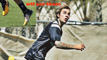Justin Bieber Spotted Balling, But Jesus Christ He's Wearing Two Different Cleats