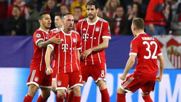 Some Vintage Franck Ribery Helps Bayern Triumph 2-1 Over Sevilla In Spain