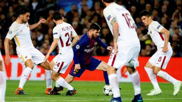 Roma Suffer Quintessential Roma Defeat At The Camp Nou