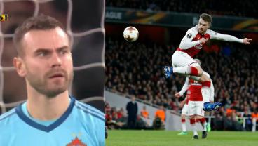 We're Not Sure What Aaron Ramsey Just Did But It Was Amazing