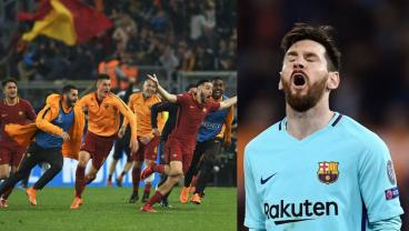 Roma Shock Barca With 3-Goal Comeback While Messi Ghosts Out Of The Champions League