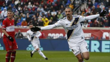 Zlatan Gets First MLS Start And Of Course He Scored The Winner