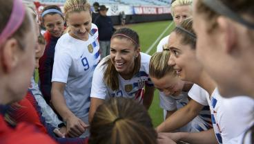 Alex Morgan's Brace And Carli Lloyd's 99th Goal Cap U.S. Rout Of Mexico