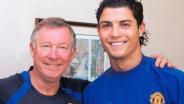 Ronaldo, Beckham And Rooney Offer Support To Alex Ferguson Following Brain Hemorrhage