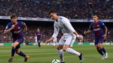 The Genius Of Luis Suarez Is Answered By The Genius Of Cristiano Ronaldo