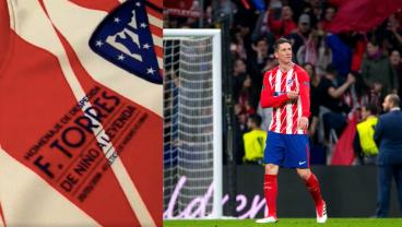 Wearing His Own Commemorative Patch, Fernando Torres Says Goodbye With A Brace