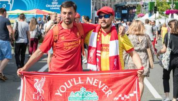 Liverpool And Real Madrid Fans Come Together To Fight Cancer
