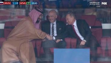 Proof Saudi Arabia Wasn't Paid To Lose To Russia