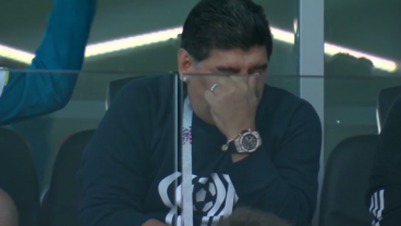 Diego Maradona DGAF At 2018 World Cup