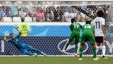 Keeper Sets Record As Oldest World Cup Player Ever, Then Makes Amazing Save On PK