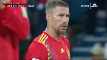 Morocco Take Early Lead Off Sergio Ramos Mistake, But Isco Equalizes Off Great Team Goal
