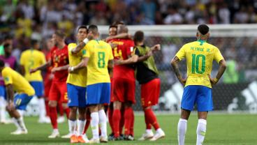 Belgium Sends Neymar And His Antics Back To Brazil With Deserved 2-1 Win
