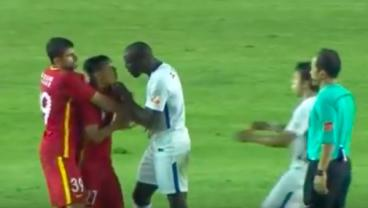 Demba Ba Confronts Racist Abuse From Fellow Footballer In China
