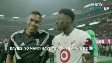 17-Year-Old Alphonso Davies Acted His Age At MLS All-Star Game And It Was Great