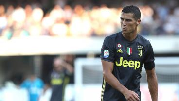 Cristiano Ronaldo At Center Of VAR Controversy In Serie A Debut