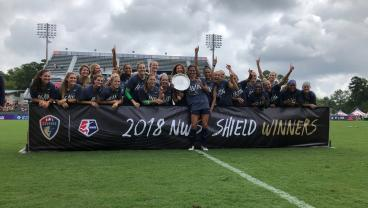 North Carolina Courage Clinch NWSL Shield, Tie League Record For Wins