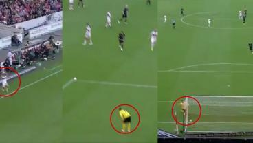 Watch: Stuttgart Player Literally Throws Ball In His Own Net