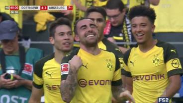 The Insane Stats Behind Dortmund's Paco Alcácer, Bundesliga's Leading Scorer After A Wild 4-3 Win