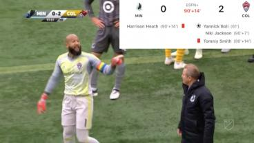 The Colorado Rapids And Minnesota United Brawl Until Kingdom Come