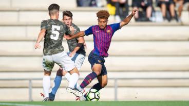 17-Year-Old American Konrad De La Fuente Appears In Barcelona B Squad