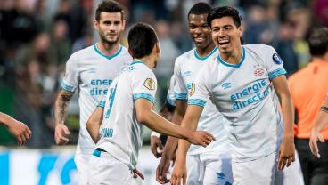 Chucky Lozano, Érick Gutiérrez Score Minutes Apart For Third Time This Year For PSV
