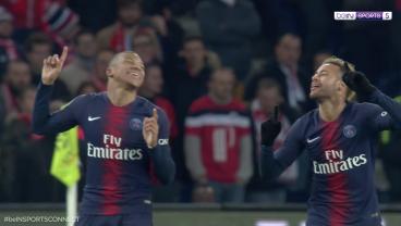 Kylian Mbappé Scores Exquisite Curler, Assists Neymar As PSG Seemingly Wraps Up Ligue 1 Title