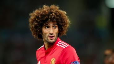 Marouane Fellaini Lost His Afro And Somehow Got Even Uglier