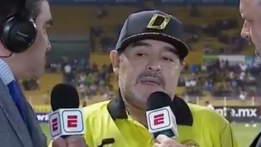 Maradona Asked To Give His Opinion On Liga MX, Absolutely Nails It