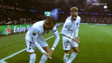 Neymar And Kylian Mbappe Do All Sorts Of Mischievous Things To Liverpool