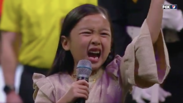 7-Year-Old Steals Show With Killer National Anthem Before MLS Cup