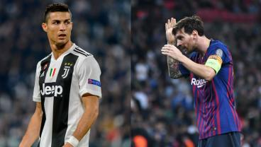 Ronaldo Challenges Messi To Join Him In Italy, So The18 Makes It Happen