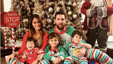 Christmas Photos From The Best Footballers On The Planet