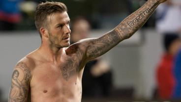 LA Galaxy Building A Statue For David Beckham