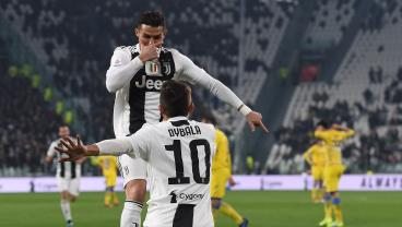 Paulo Dybala Just Made Cristiano Ronaldo Look Really Good With This Incredible Strike