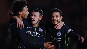 Man City's Phil Foden, 18, Scores Two Remarkable Solo Goals In FA Cup