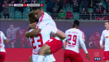 Tyler Adams Enters Match With Leipzig Trailing, Gets Involved In Late Equalizer