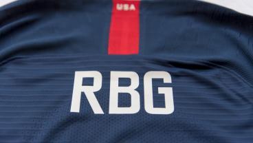 USWNT Players Wearing Names Of RBG, Cardi B, Mother Teresa On Their Backs Vs. England