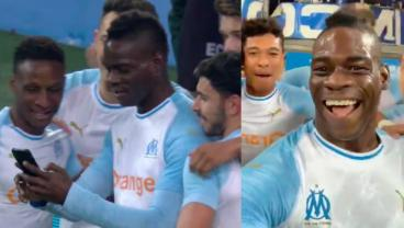 Mario Balotelli Celebrates Awesome Goal With A Selfie
