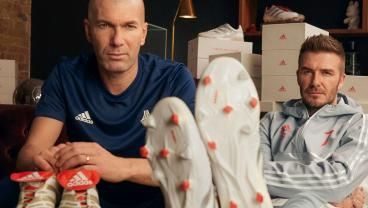 Adidas Celebrates 25 Years Of Predator With Zidane And Beckham Recreations