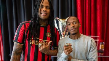 Atlanta United Players, Waka Flocka Receive MLS Cup Rings — You Can Have One Too For $10K