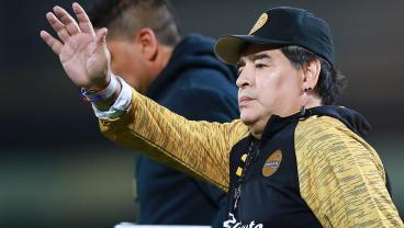 Maradona Said He's Planning To Quit Dorados — And Football — Over Penalty Call
