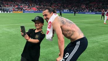 Zlatan (Goal, Assist) Cheered At BC Place And Vancouver Players Weren't Happy About It