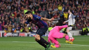 Luis Suarez Had No Problem Celebrating His Goal Against Liverpool
