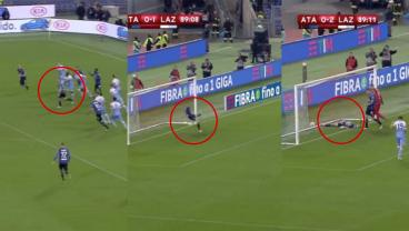 Atalanta Midfielder Makes 90-Yard Recovery Sprint Only To Take Shot Off Groin, Into Own Net